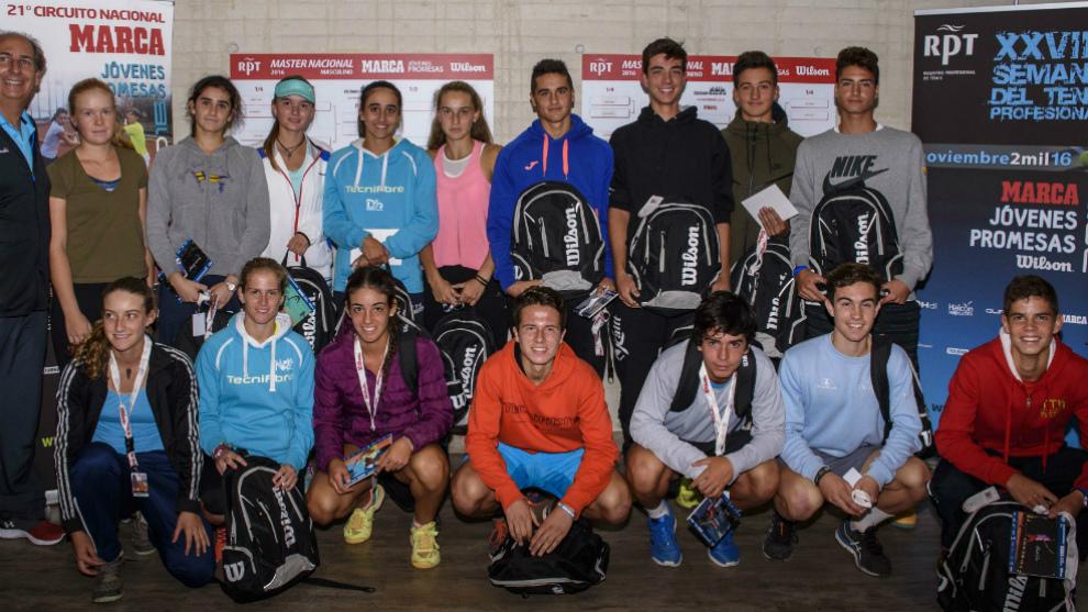 Participanes en el Master Nacional de la edición 2016 del circuito...