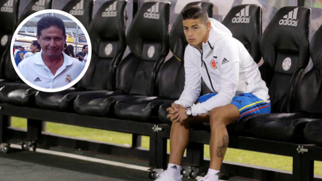 James Rodriguez Will Stay At Real Madrid Says Father