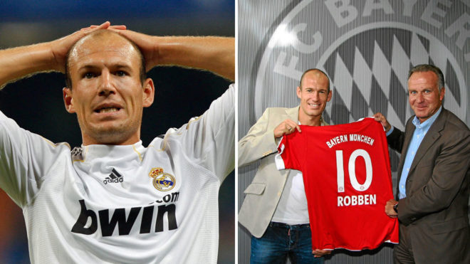 san francisco a7dd7 921a5 Robben reveals why Madrid sold him to Bayern in 2009 | MARCA ...