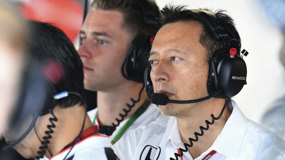 Yusuke Hasegawa, responsable de Honda F1