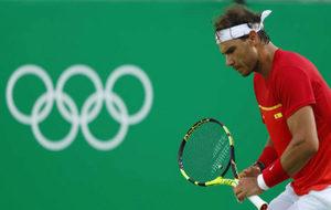 Rafa Nadal en los Juegos Olímpicos de Río