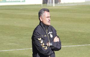 Mauel Calleja, durante un entrenamiento.