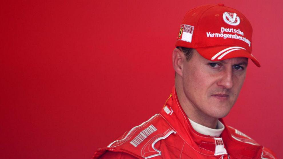 Michael schumacher, durante su etapa en Ferrari