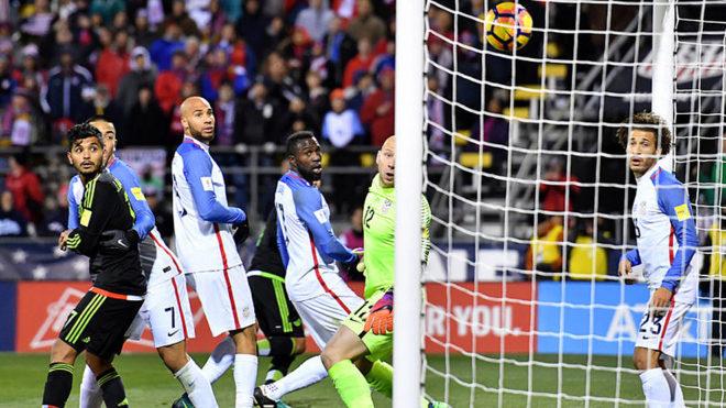 El gol de Márquez que acabó con la mala racha mexicana en Columbus.