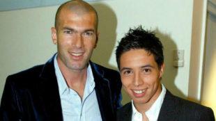 Zidane y Nasri en 2005
