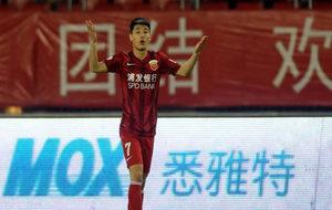 Wu Lei, futbolista del SIPG y pichichi nacional la última edición