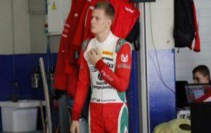 Mick, en Jerez con la F3.