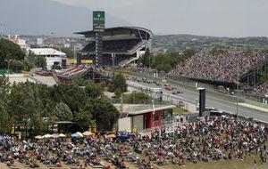 Imagen del GP de Espa�a en Montmel� esta temporada