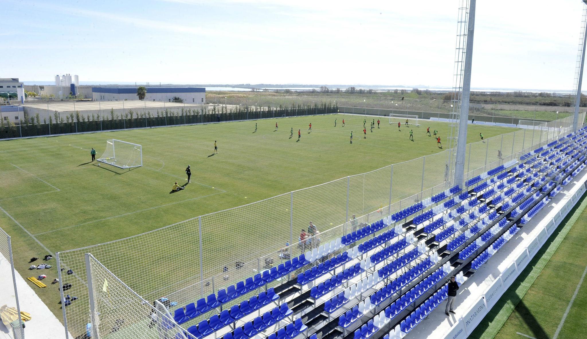 Las instalaciones deportivas de Pinatar Arena, un modelo.