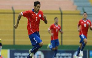 Cabral, con Chile.