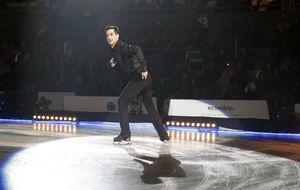 Javier Fernández, en el espectáculo 'RevolutiON Ice'