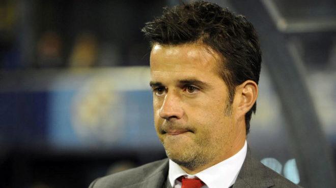 Marco Silva, en su etapa de entrenador en el Olympiacos