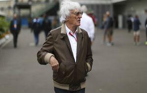 Bernie Ecclestone, durante el GP de M�xico