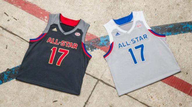 Se revelaron los uniformes adidas que se usarán en el All Star de la NBA en New Orleans