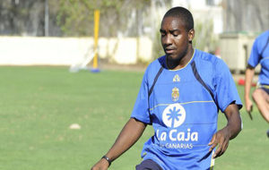 Edixon Perea, en su etapa como jugador de la UD Las Palmas en 2011