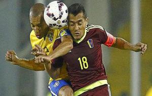 Arango salta con Miranda en un Venezuela-Brasil de la Copa América...