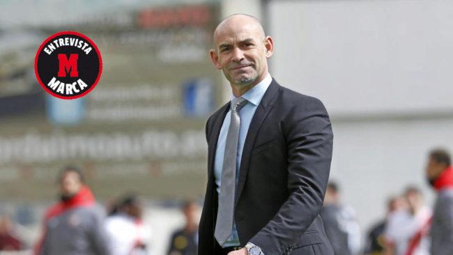 Paco J�mez, entrenador de Cruz Azul.