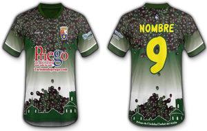 La camiseta del Priego CF.