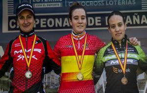 Triplete asturiano en el Campeonato de Espa�a de ciclocross.