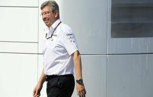 Ross Brawn, durante su etapa en Mercedes