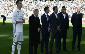 Cristiano Ronaldo, Kopa, Owen, Figo, Ronaldo y Zidane, el sábado en...