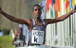 El eritreo Nguse Amloson sumó el cross de Zornotza a su lista de...