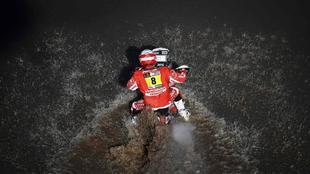 Farrés, durante la presente edición del Dakar.