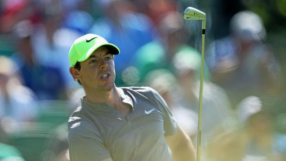 Rory McIlroy, durante la segunda jornada del US Open 2016.