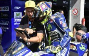 Uccio Salucci, con Rossi.