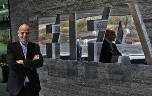 GIanni Infantino posa en la sede de la FIFA para MARCA.