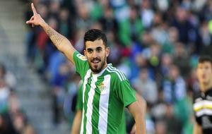 Dani Ceballos, durante el partido contra el Legan�s.