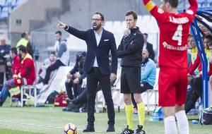 José Bordalás, dando instrucciones el pasado viernes en el Juegos...