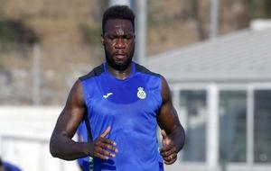 Felipe Caicedo, durante un entrenamiento.