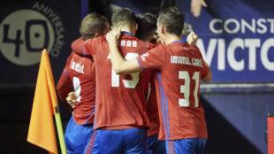 Osasuna salv� un punto ante el Valencia en el tiempo de...