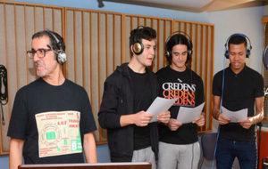 'Making off' del himno con Kacho Casal