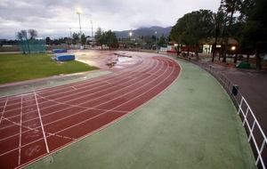 Imagen de la pista de Alhama de Murcia, donde Millán trabajó durante...