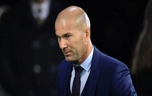 Zidane, en la gala de los premios The Best.