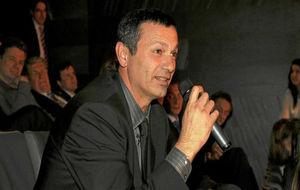 Antonio Peñalver, durante un acto en el COE