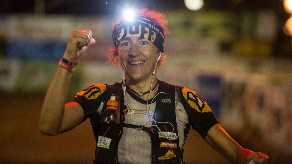 Nuria Picas, en una carrera.