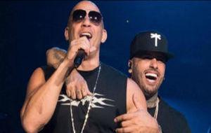 Nicky Jam y Vin Diesel