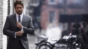 Gerard Butler, embajador de Boss Bottled