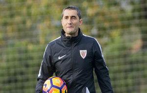 Valverde prepara el partido ante el Barça
