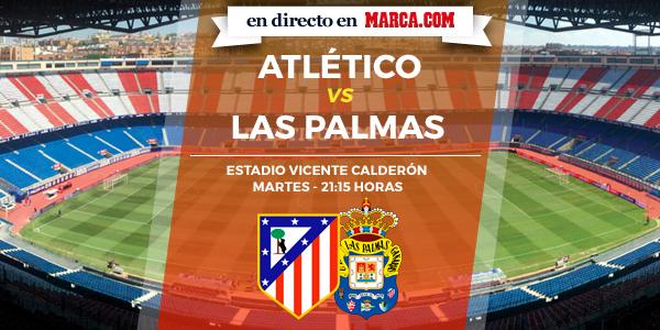 Atlético de Madrid vs Las Palmas en directo