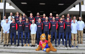 La plantilla de selección española en el CSD