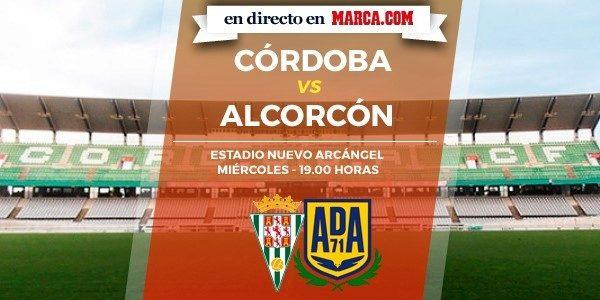 Córdoba vs Alcorcón en directo