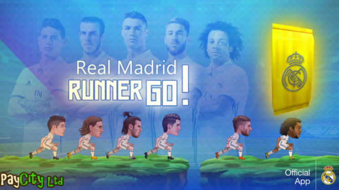 'Real Madrid Runner GO!'
