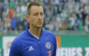 John Terry, antes de un partido con el Chelsea el pasado mes de julio