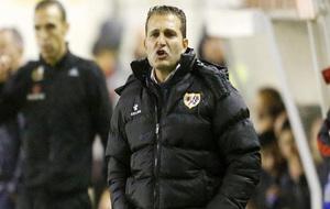 Baraja, durante el partido de Liga ante el Huesca.