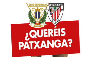 Cartel del partido Legan�s- Athletic