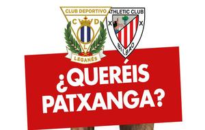 Cartel del partido Leganés- Athletic